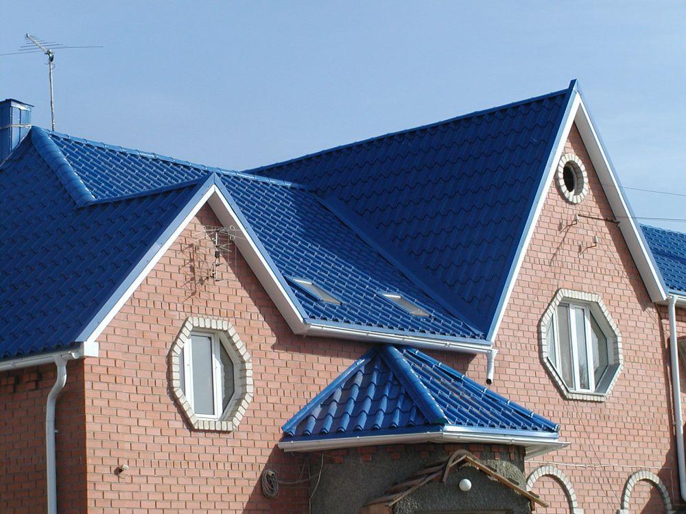 Крыша с козырьком своими руками